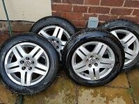 VW Golf MK4 Bora A3 1998-2004 alloy wheels 5x100 15 inch 6j et38 195 65 15 tyres Rims Set