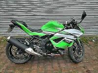 Kawasaki Ninja, BX250 afsa 250 SPECIAL Edition, 2016, Green, Fuel injected,