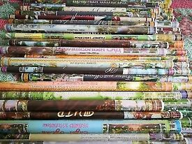 1/8 JOBLOT MURALS, 71 murals different sizes and pictures.BARGAIN PRICE