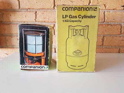 Gas cylinder and Lantern. Perfect for camping. Priced to sell.