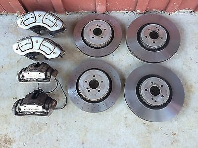 2010 Mercedes S63 CL63 S65 CL65 AMG Calipers and Rotors SET Brake Kit System