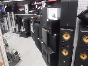 Get sound that matters here at Cash Pawn! Whether you're looking for Bookshelf or Tower Speakers, We Have It!*