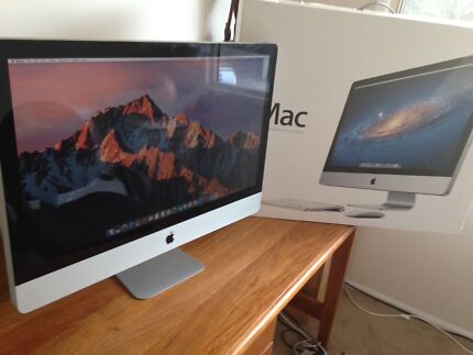 27 INCH APPLE iMAC, CORE i5 2.7GHZ  PURCHASED OCT 2012