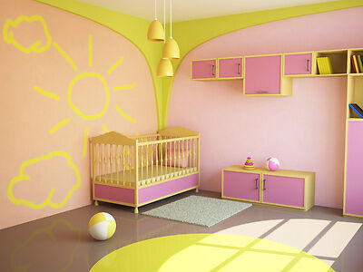 wandtattoos wandbilder f rs kinderzimmer coole wanddekorationen f r kids in jedem alter ebay. Black Bedroom Furniture Sets. Home Design Ideas