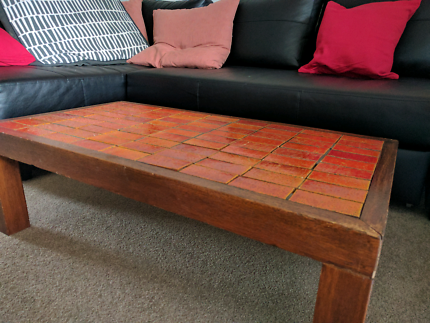 Coffee Table with retro tiles (loose)