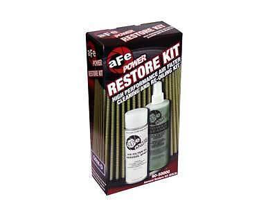 Afe Air Filter Cleaning (aFe Power Air Filter Aerosol Restore Cleaner Cleaning Tune Up Kit Gold 90-50000 )