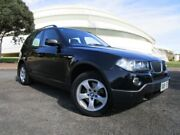 2008 BMW X3 E83 MY09 xDrive 20D Lifestyle Black 6 Speed Auto Steptronic Wagon Gepps Cross Port Adelaide Area Preview