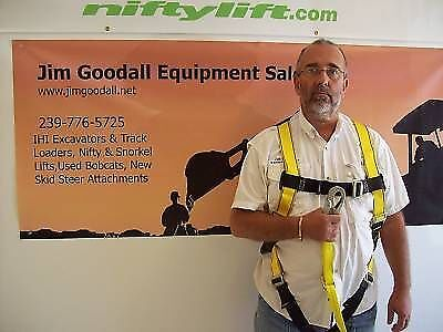 Boom Lift Safety Harness With Lanyardosha Requirement For Any Lift Deluxe