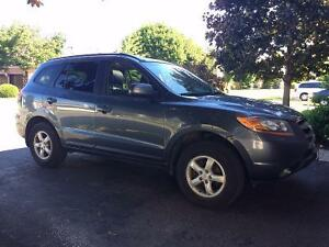 2009 Hyundai Santa Fe GLS Very Good Condition Low KM