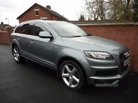 2011 audi q7 s line auto{fash,43000 miles,1 owner,finance,warranty ava}
