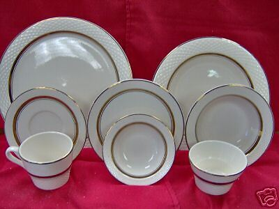 Gold Band Restaurant UpScale Dinnerware-- Pick-up- in PA