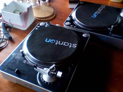 Pair of Stanton turntables