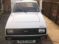 CLASSIC RELIANT RIALTO VERY LOW MILES FULL MOT