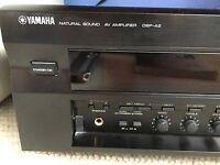 Yamaha DSP-A2 Natural Sound Amplifier (Black)