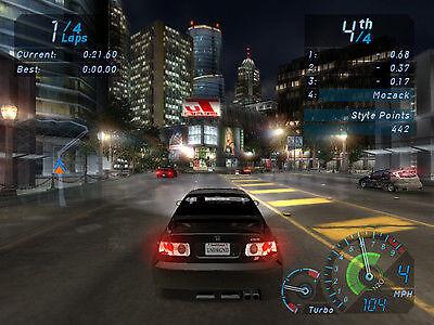 Szene aus Need for Speed Underground