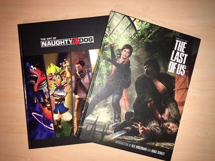 The Art of Naughty Dog & The Art of The Last Of Us