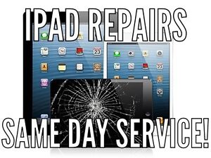iPad, iPad mini, iPad Air and iPod glass screen/LCD repairs