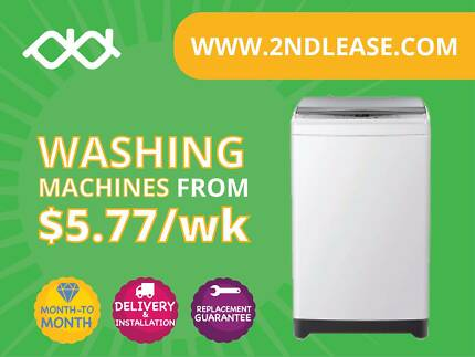 RENT Front Load Washing Machine from $40/Month (Month to Month)