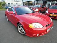 2002 Hyundai Coupe 2.7 V6 - Red - Platinum Warranty!