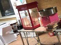 Candy Floss Machine & PopCorn Machine Hire