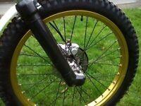 swap corsa for trials bike
