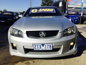 2008 Holden Commodore VE SV6 6 Speed Manual Utility Brooklyn Brimbank Area Preview