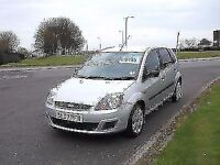 FORD FIESTA 1.25 2007.STYLE FULL HISTORY,,CD,ELECTRIC WINDOWS,PRIVACY GLASS