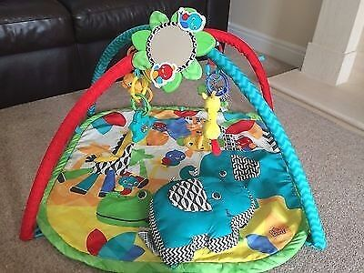 Bright starts sensory safari play gym