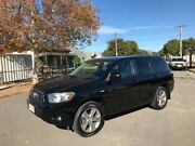 2009 Toyota Kluger GSU40R KX-S (FWD) Black 5 Speed Automatic Wagon Thebarton West Torrens Area Preview