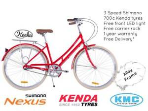 NIXEYCLES Keeka 3 Speed   Vintage Alloy Bicycle   Free Delivery* Sydney City Inner Sydney Preview