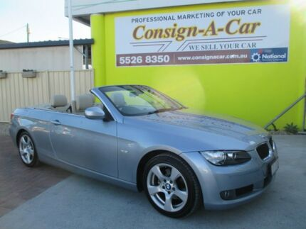 2009 BMW 320D E93 MY10 Steptronic Silver 6 Speed Sports Automatic Convertible