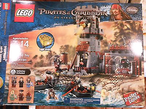 WANTED*  LEGO Pirates of the Caribbean