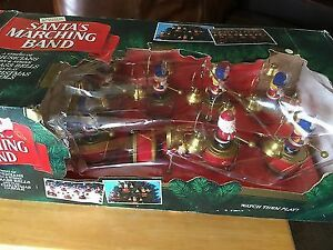 Santa's Marching Band by Mr Christmas - 1992