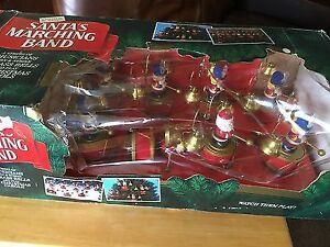 Santa's Marching Band by Mr Christmas - 1992