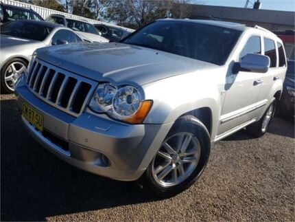 2010 Jeep Grand Cherokee WH MY2010 Overland 5 Speed Automatic Wagon