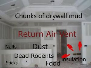 FALL SPECIAL $99.00 Home Furnace Cleaned 10 vents included and i Edmonton Edmonton Area image 2