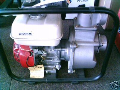 3 Honda Gx160 Gas Water Pump