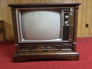 Looking for an old console TV, non-working is perfect!