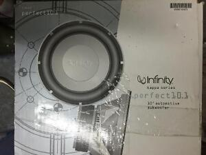 """Infinity Kappa Series Perfect 10.1 10"""" Auto Subwoofer"""