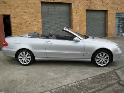 2006 Mercedes-Benz CLK280 Convertible ELEGANCE 130,000 KLMS A1 Heidelberg Heights Banyule Area Preview