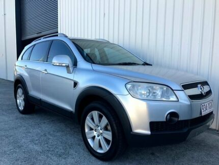 2008 Holden Captiva CG MY08 LX AWD Silver 5 Speed Sports Automatic Wagon