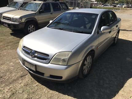 2003 Holden Vectra Sedan Manual Silver