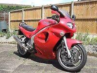 Triumph Sprint, 54 plate, Tornado Red, 955cc