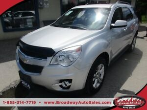 2014 Chevrolet Equinox LOADED 1-LT MODEL 5 PASSENGER 2.4L - DOHC