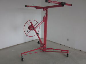 NEW, DRYWALL HOIST WALL UP TO 11FT, SIZE UP TO 4X16, TILT LATER.