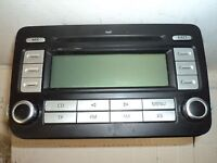 VOLKSWAGEN RCD300 MP3 STEREO RADIO 1K0035186AF WITHOUT CODE