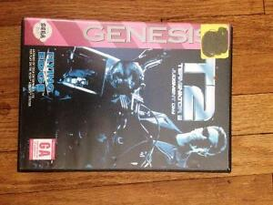 T2 Terminator 2 Judgement Day Sega Genesis Complete