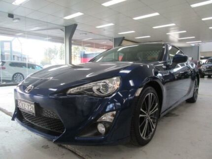 2014 Toyota 86 ZN6 MY14 Upgrade GTS Sonic Blue 6 Speed Manual Coupe