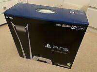 Sony Playstation 5 Digital Edition BRAND NEW