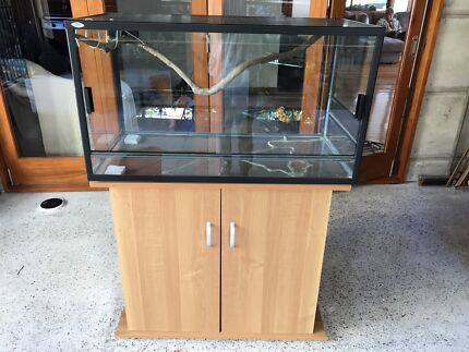 Wanted: Reptile Enclosure with cupboard & light